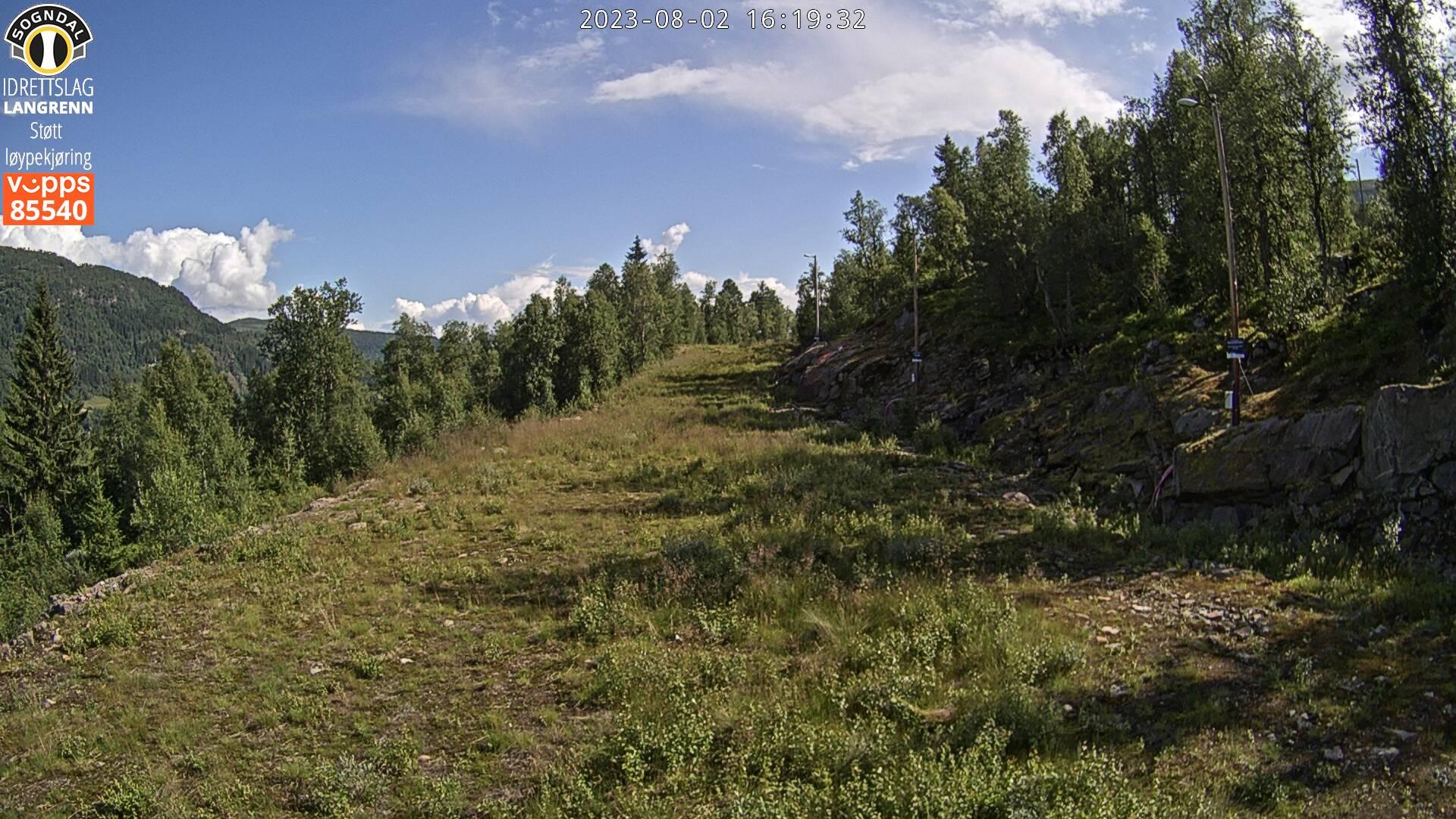 Sogndal - Hodlekve skicentrum; verlichte loipe